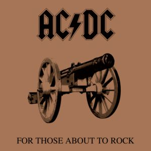 For Those About to Rock We Salute You Album
