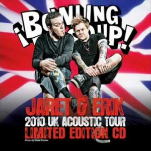 Jaret & Erik 2010 UK Acoustic Tour Limited Edition CD Album