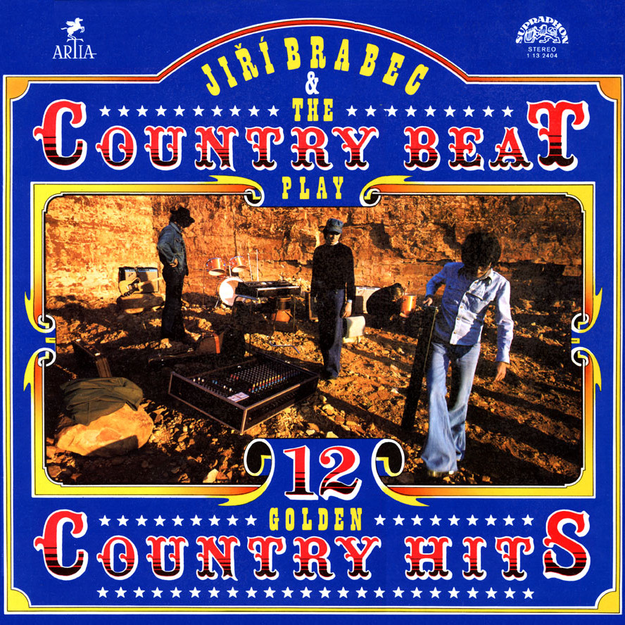 J. Brabec & The Country beat play12 golden country hits Album