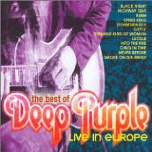 The Best of Deep Purple Live in Europe Album