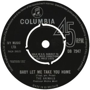 Baby Let Me Take You Home Album